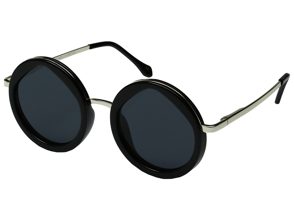 Le Specs - Hey Yeh (Black/Gold) Fashion Sunglasses