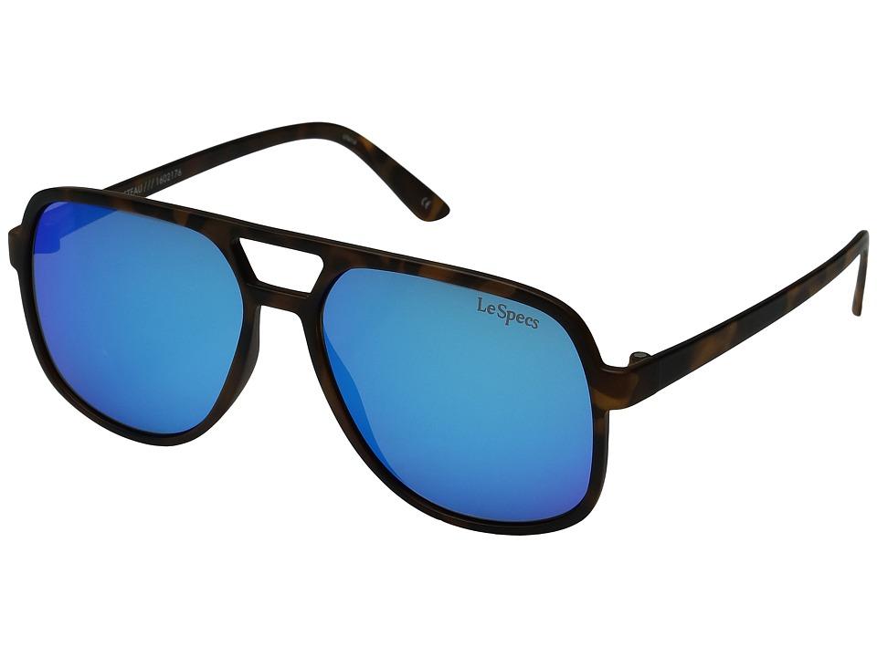 Le Specs - Cousteau (Matte Tortoise) Fashion Sunglasses