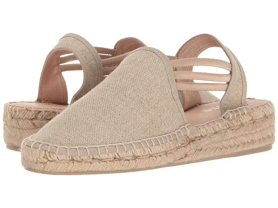 Sesto Meucci - 1635-PO (Natural Lino Fabric) Women's Shoes