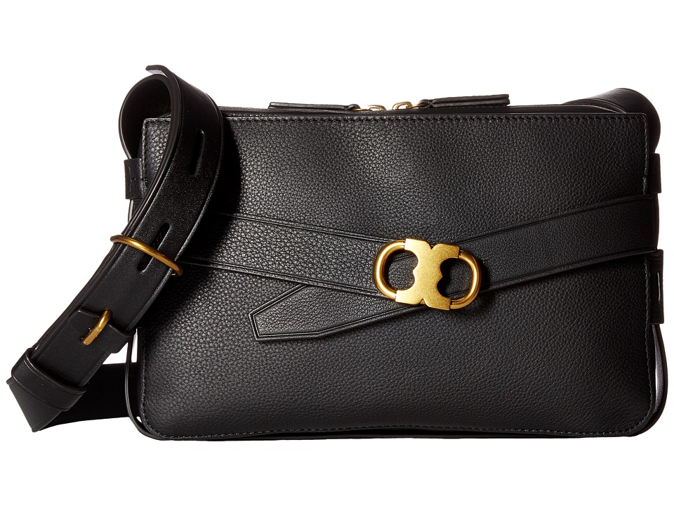 Tory Burch - Gemini Link Camera Bag (Black) Bags