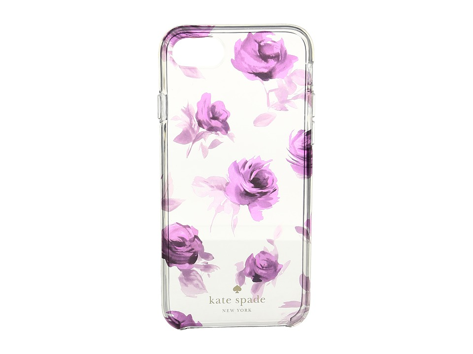Kate Spade New York - Rose Symphony Phone Case for iPhone 7 (Clear Multi) Cell Phone Case
