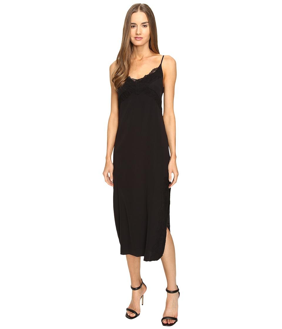 Manila Grace Slip Dress (Black) Women