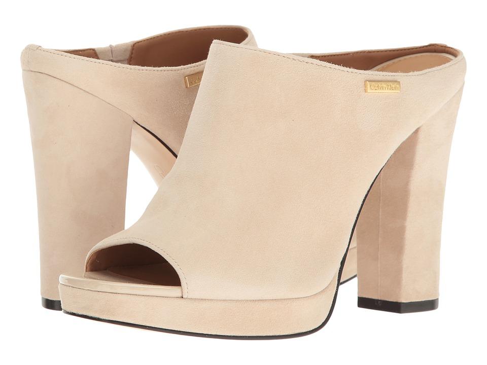 Calvin Klein - Beitris (Sand Suede) Women's Shoes