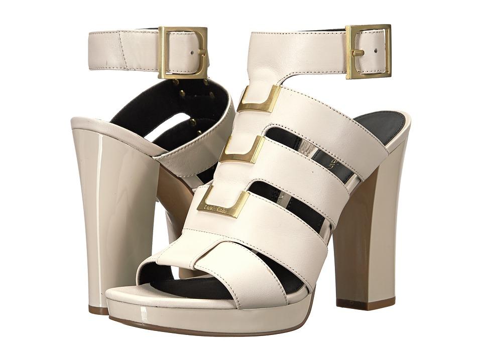 Calvin Klein Benita (Soft White Leather) Women