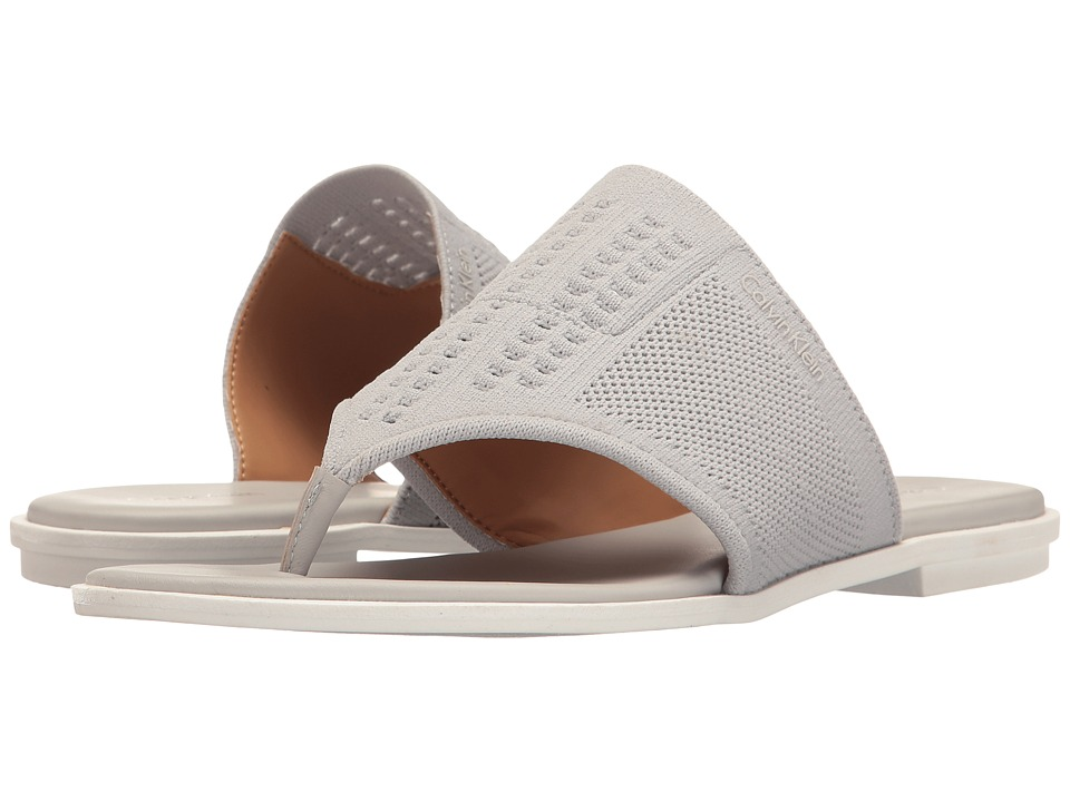 Calvin Klein - Blossom (Vesper Grey Stretch Knit) Women's Shoes