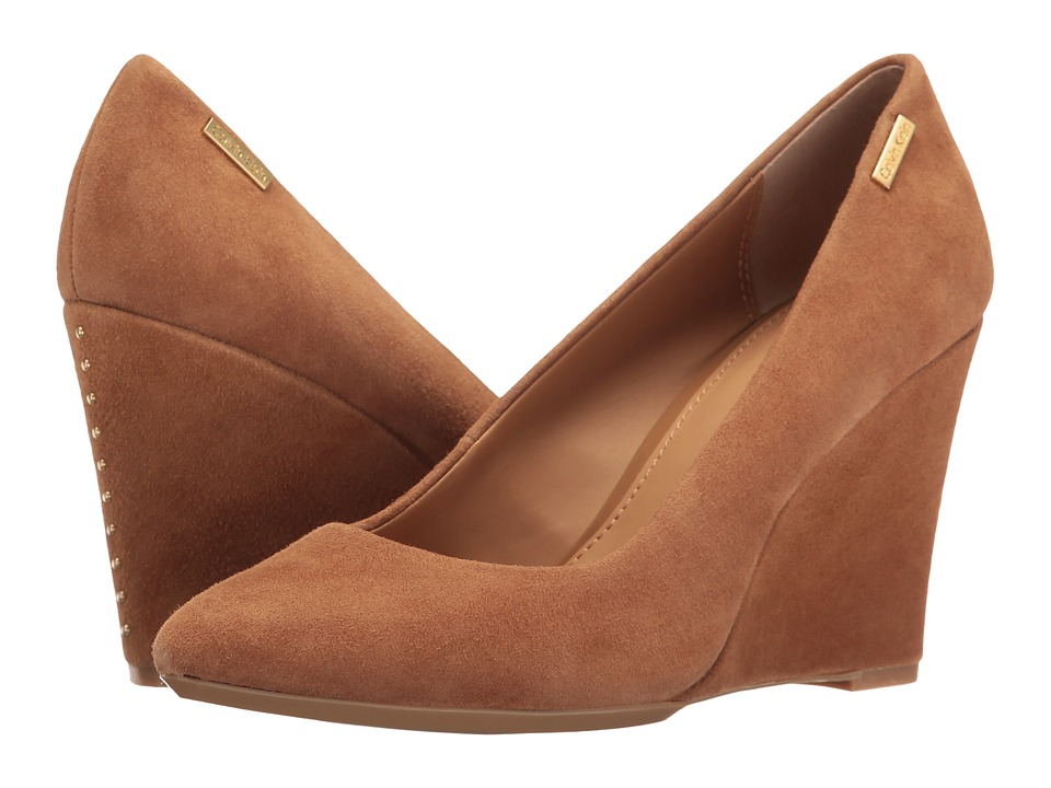 Calvin Klein - Celeste (New Caramel Suede) Women's Shoes