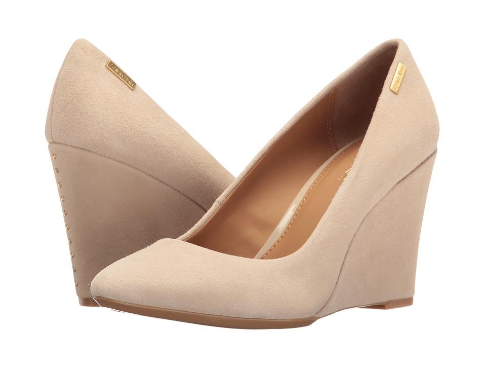 Calvin Klein - Celeste (Sand Suede) Women's Shoes
