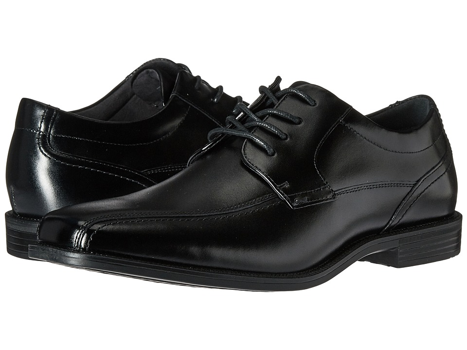 Florsheim - Portico Bike Toe Oxford (Black Smooth) Men's Shoes