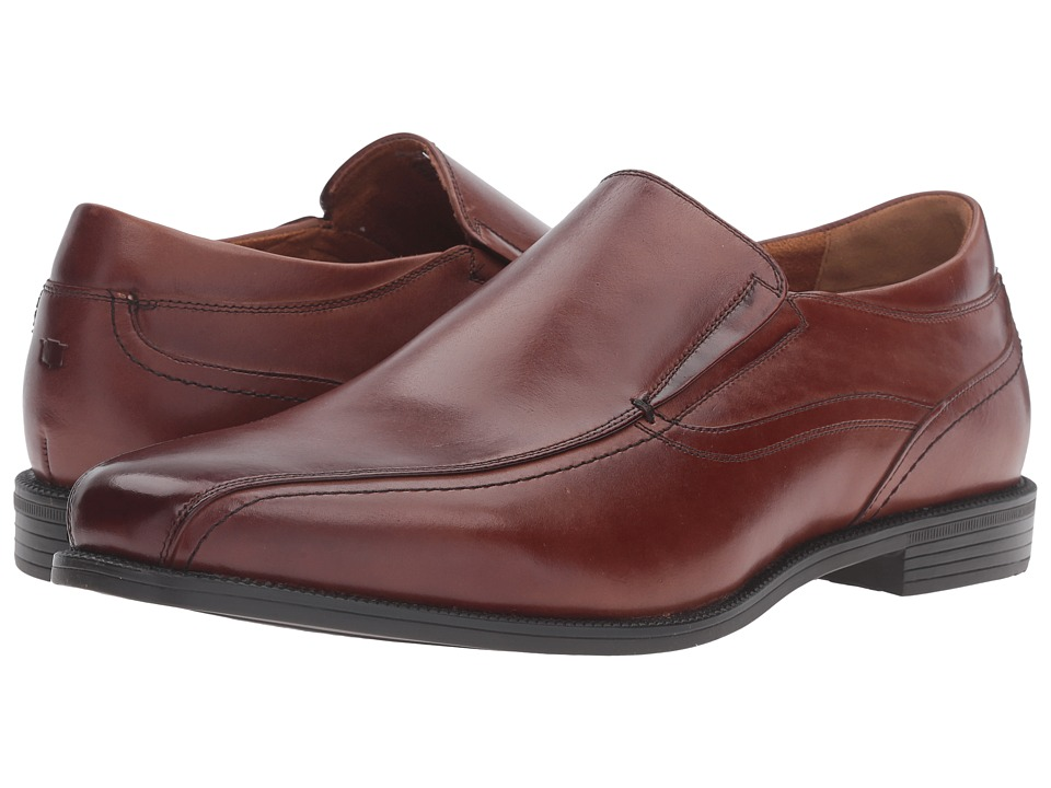 Florsheim - Portico Bike Toe Slip-On (Cognac Smooth) Men's Shoes