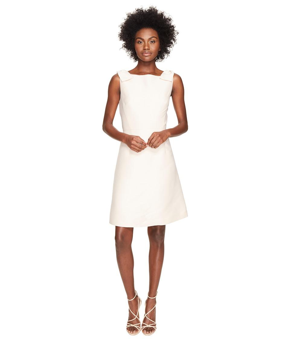 Kate Spade New York - Rambling Roses Double Bow A-Line Dress (Pink Sand) Women's Dress