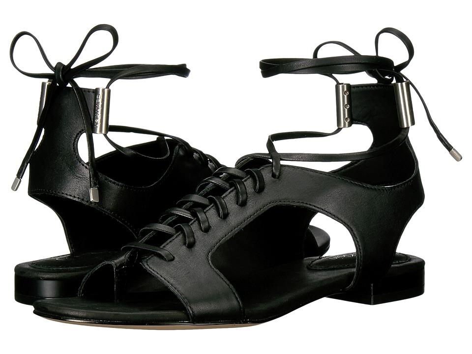 Calvin Klein - Effie (Black Leather) Women's Shoes