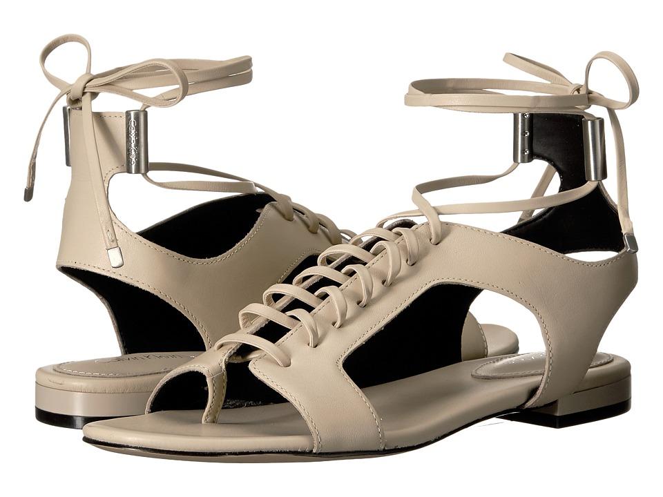 Calvin Klein - Effie (Sand Leather) Women's Shoes