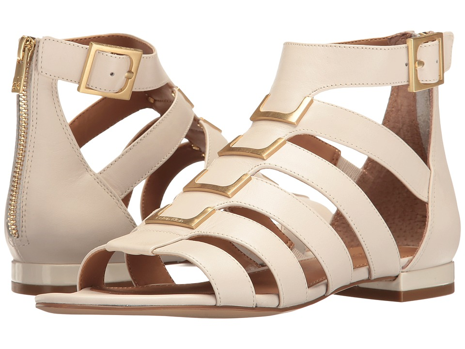 Calvin Klein Estes (Soft White Leather) Women