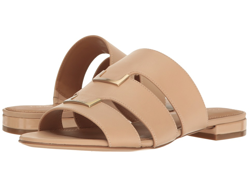 Calvin Klein - Evita (Sandstorm Leather) Women's Shoes