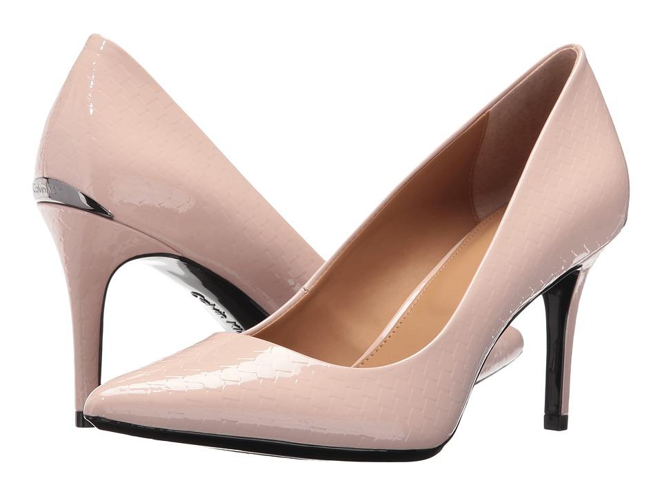 Calvin Klein - Gayle (Blush Python Print Patent) High Heels