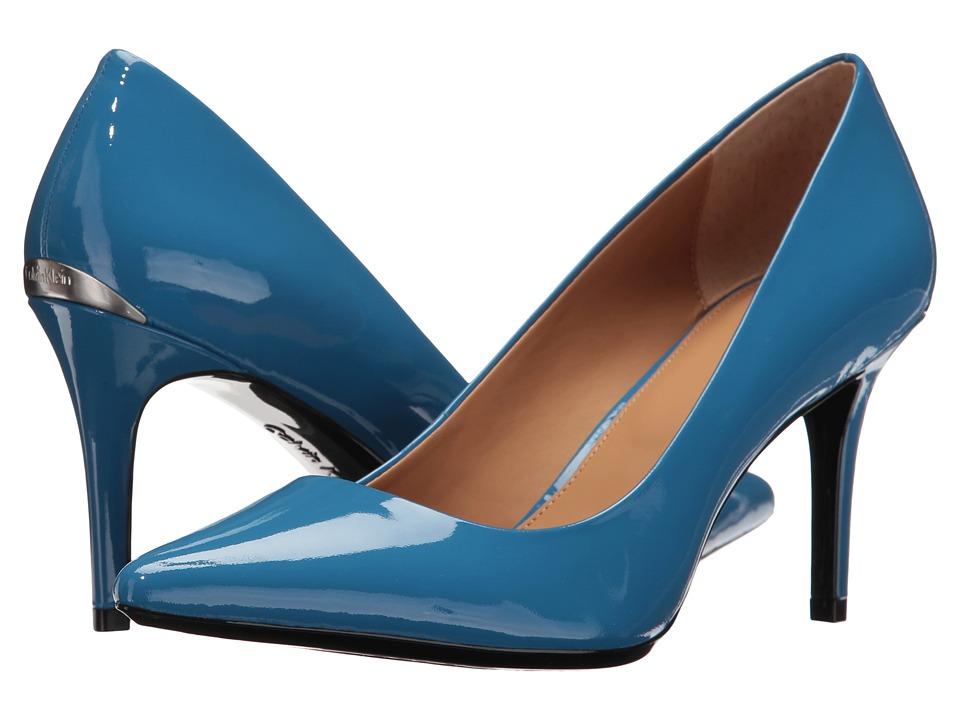 Calvin Klein - Gayle (Lapis Blue Patent) High Heels