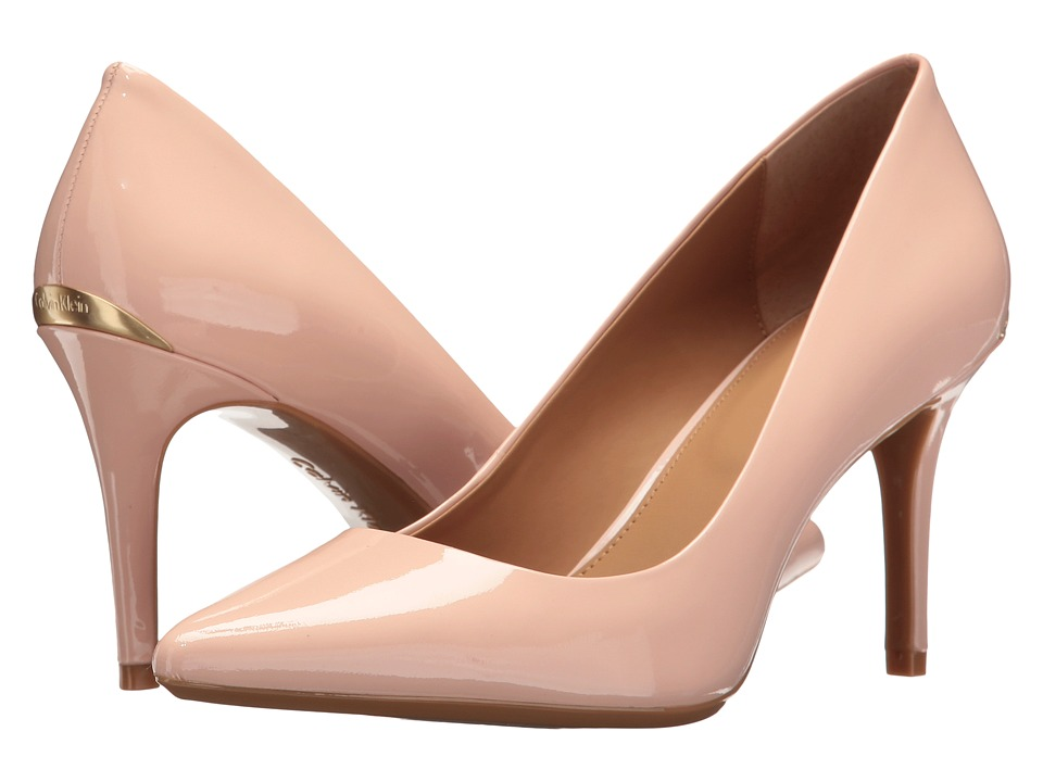 Calvin Klein - Gayle (Petal Pink Patent) High Heels