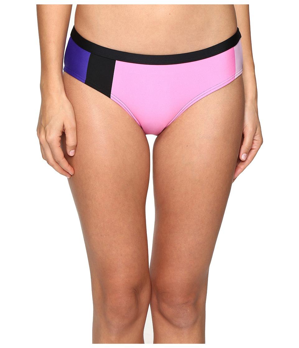 Kate Spade New York - Limelight Hipster Bikini Bottom (Black Multi) Women's Swimwear