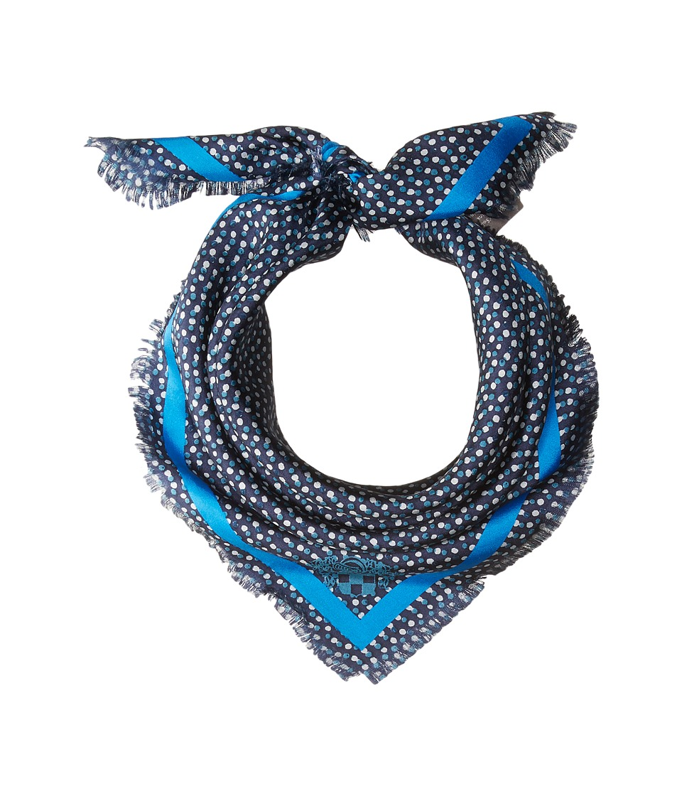 Vince Camuto - Polka Dot Party Square (Poseidon) Scarves
