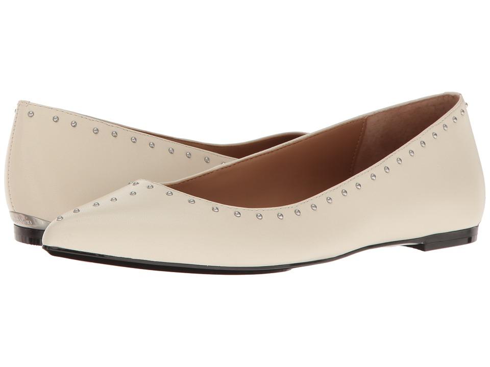 Calvin Klein - Genie (Soft White Leather) Women's Shoes