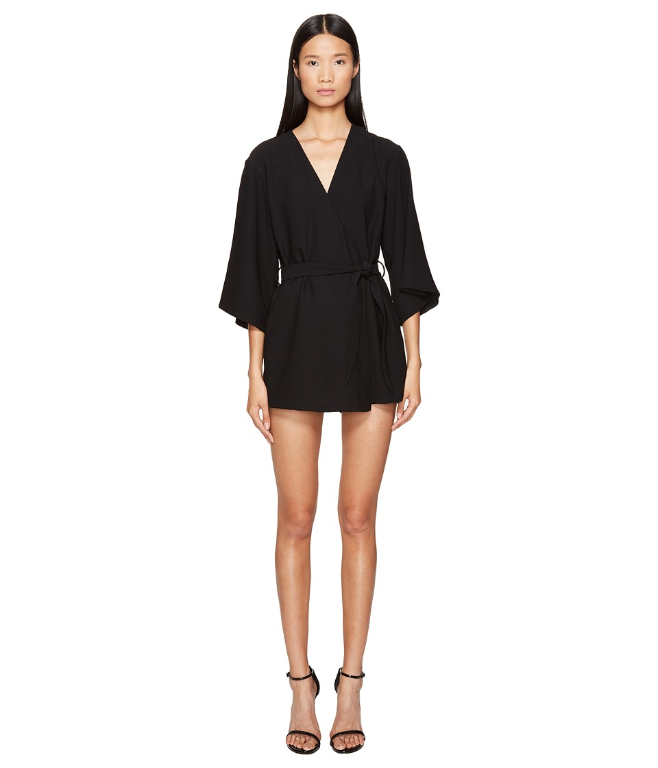 LAMARQUE - Jamari Kimono Jumpsuit (Black) Women's Jumpsuit & Rompers One Piece