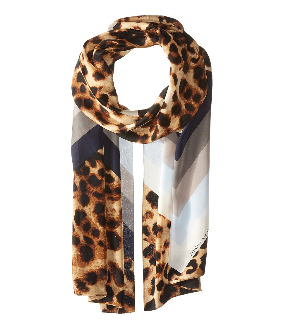 Vince Camuto - Cheetah Chevron Oblong (Classic Tan) Scarves