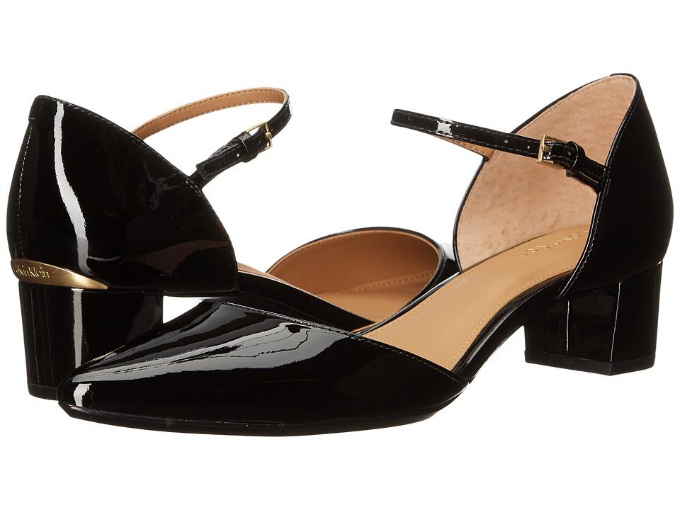 Calvin Klein - Georgie (Black Patent) Women's Shoes