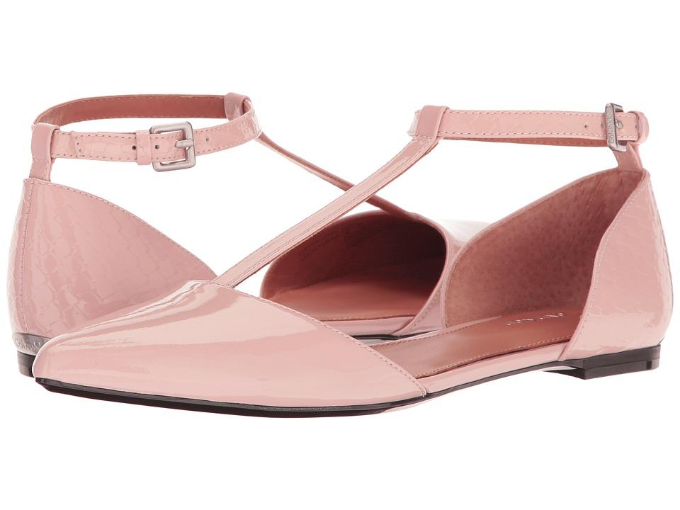 Calvin Klein - Ghita (Blush Patent) Women's Dress Flat Shoes