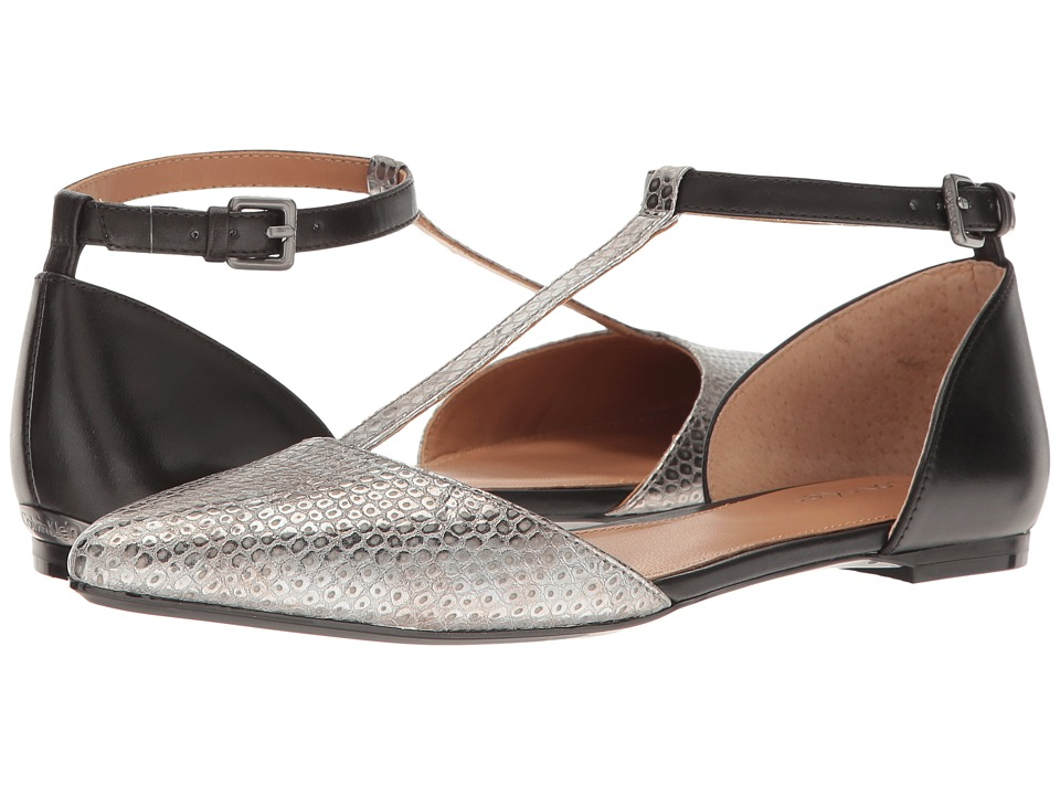 Calvin Klein Ghita (Alloy Metallic Leather) Women