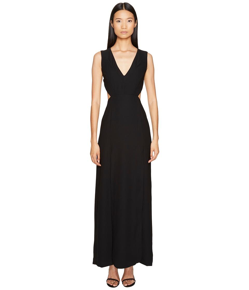 LAMARQUE - Villetta Backless Maxi Dress (Black) Women's Dress
