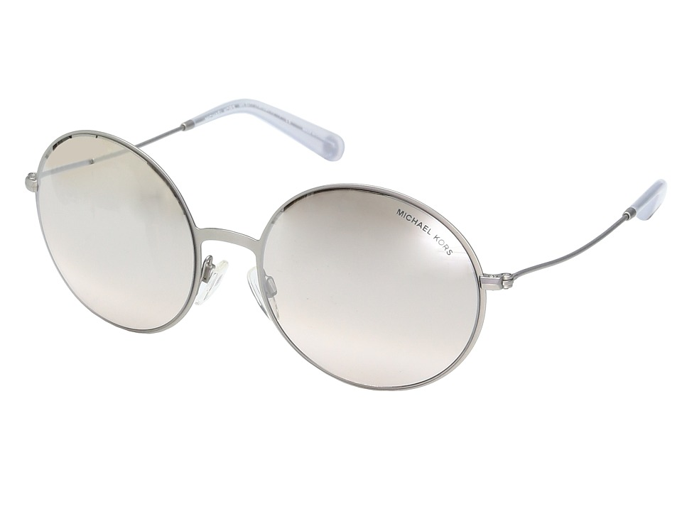 Michael Kors - Kendall II (Matte Silver/Iridescent) Fashion Sunglasses