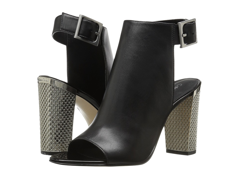 Calvin Klein - Norah (Black Leather) High Heels