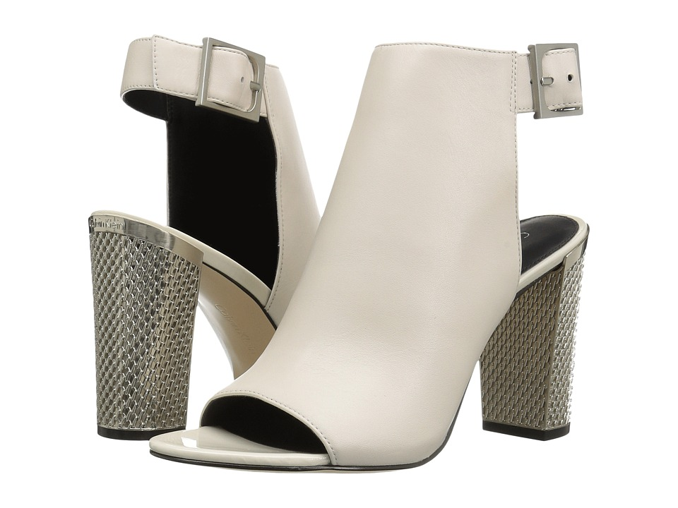 Calvin Klein - Norah (Soft White Leather) High Heels