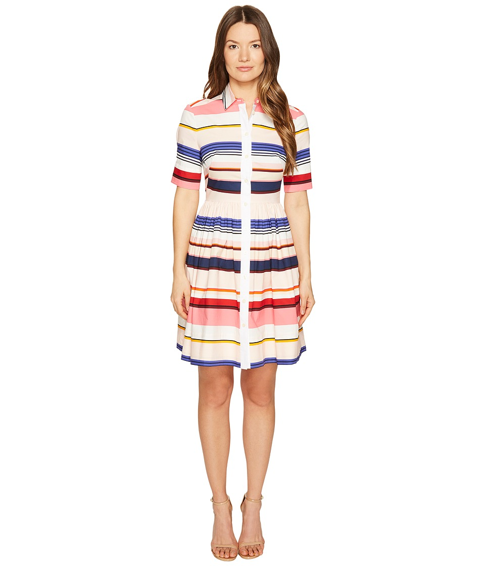 Kate Spade New York Spice Things Up Berber Stripe ShirtDress