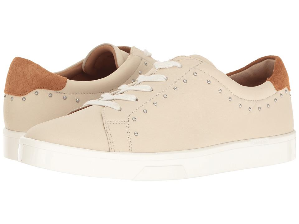 Calvin Klein Illia (Soft White/Almond Tan Leather/Nubuck) Women
