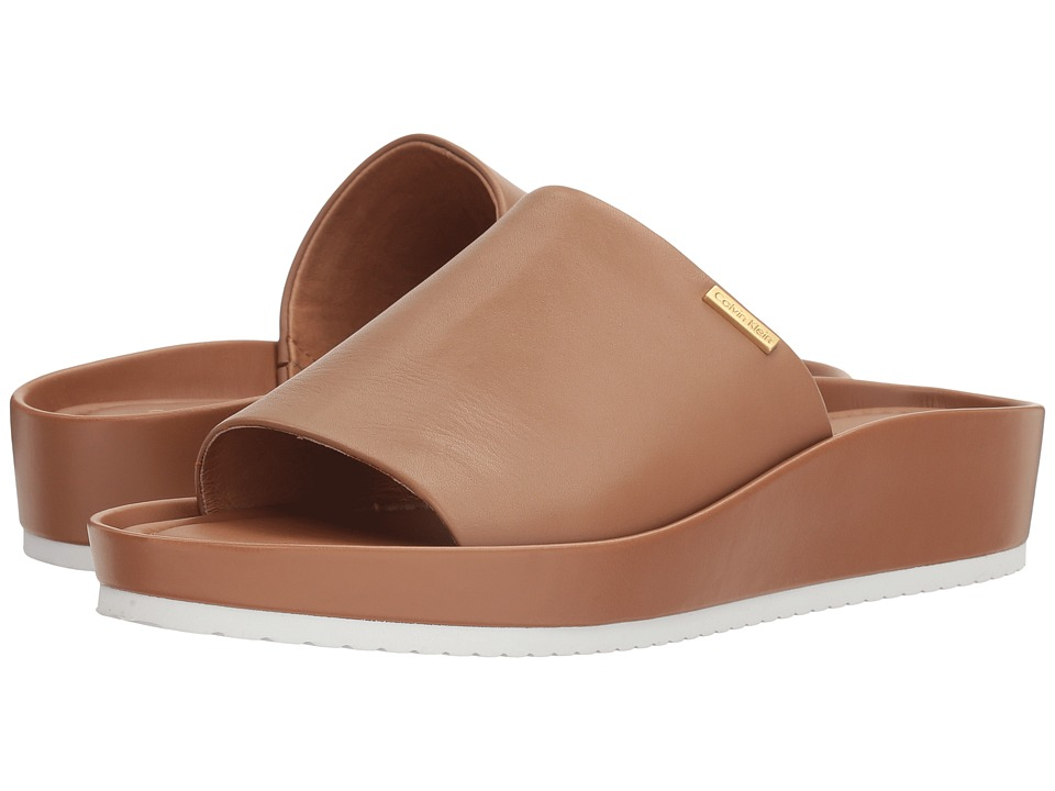 Calvin Klein - Hope (New Caramel Leather) Women's Shoes