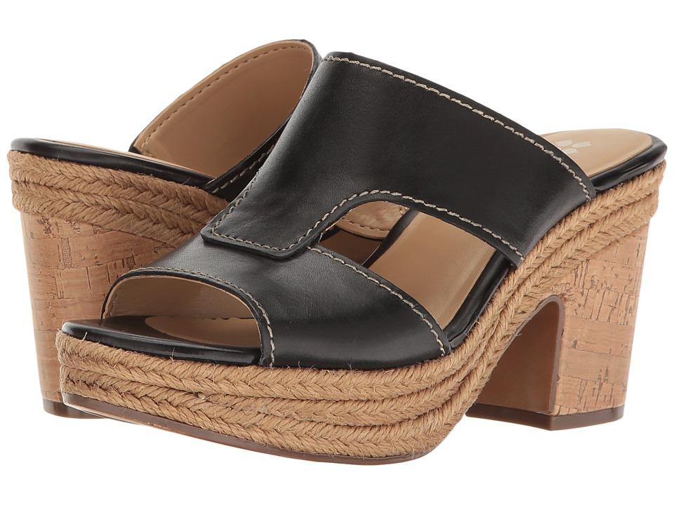 Naturalizer - Evette (Black Leather) Women's Shoes