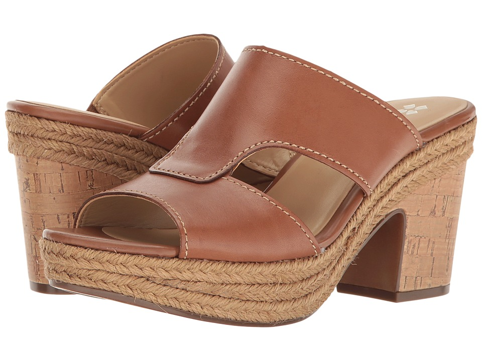 Naturalizer - Evette (Saddle Tan Leather) Women's Shoes