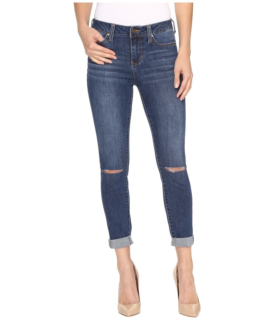 Liverpool - The Crop 26/28 Rolled in Edison Mid Dest/Indigo (Edison Mid Dest/Indigo) Women's Jeans