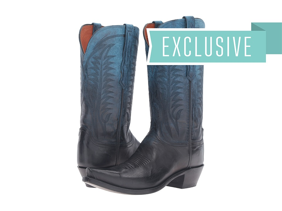 Lucchese - Maxine (Ombre Ocean) Cowboy Boots