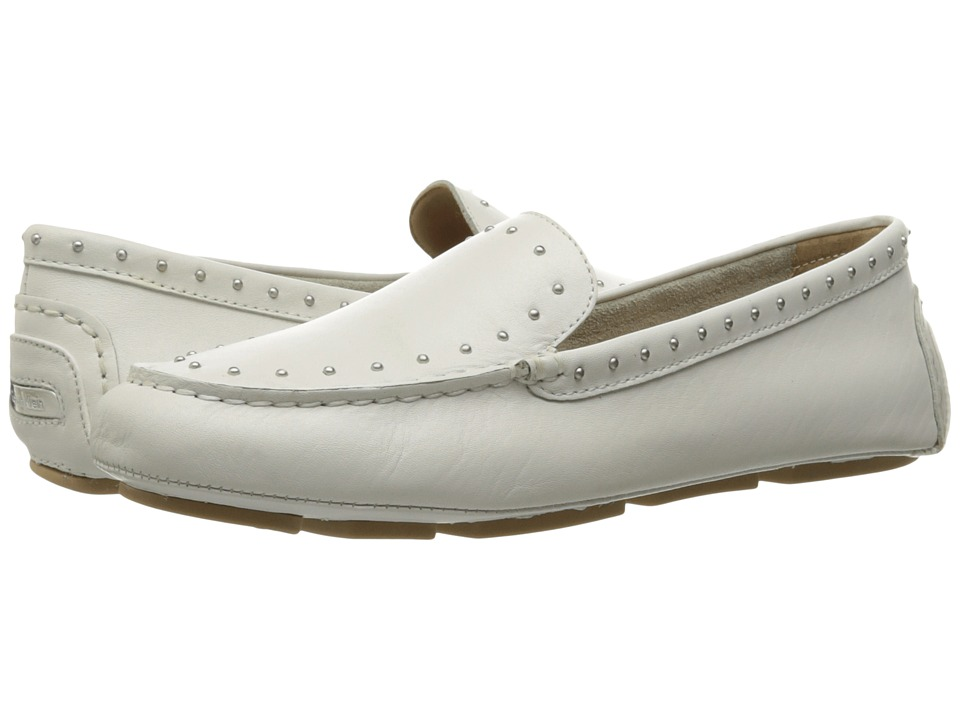Calvin Klein - Lolly (Platinum White Leather) Women's Shoes