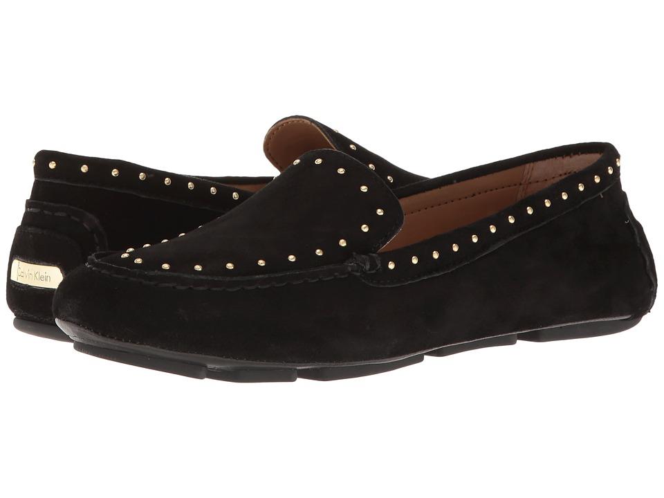 Calvin Klein - Lolly (Black Suede) Women's Shoes