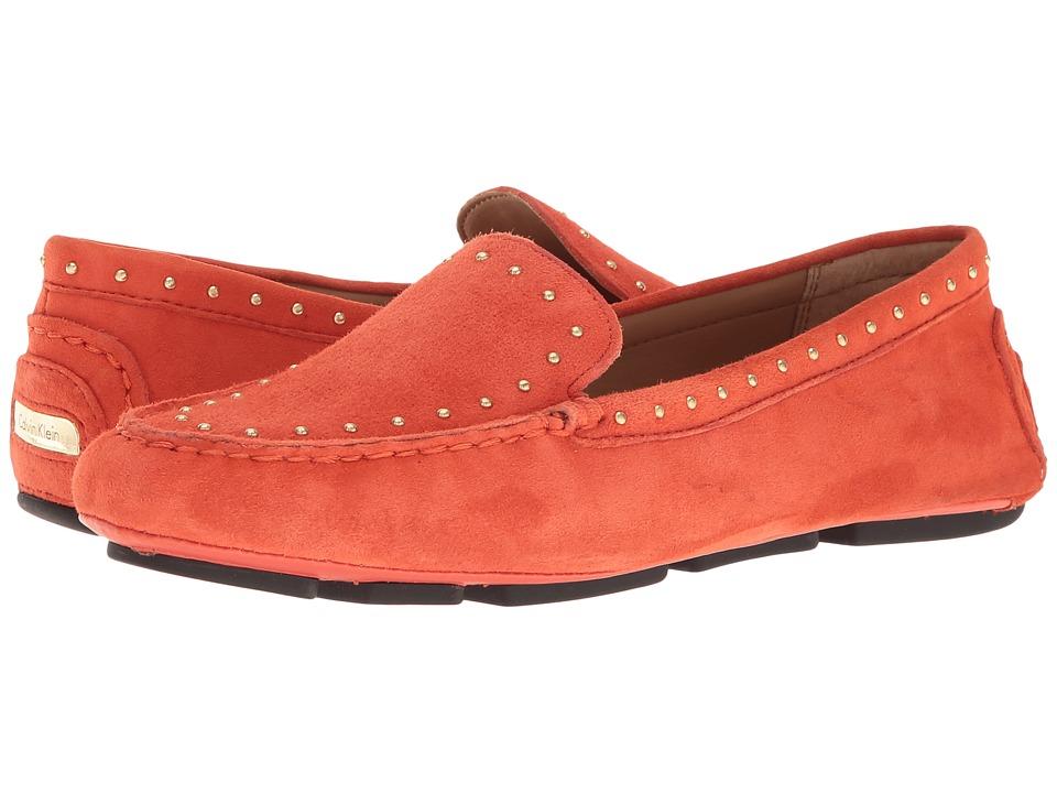 Calvin Klein - Lolly (Deep Blush Suede) Women's Shoes