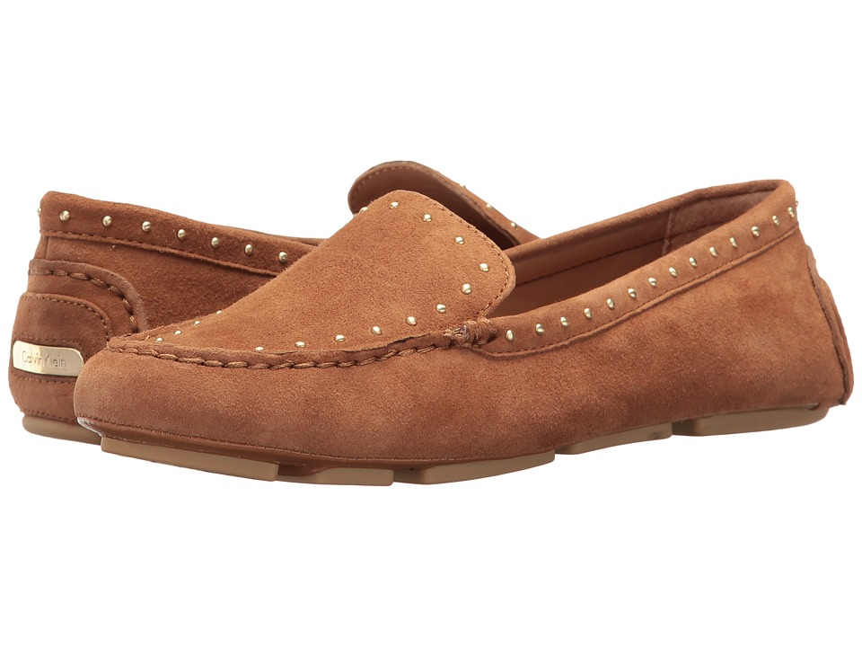 Calvin Klein - Lolly (New Caramel Suede) Women's Shoes