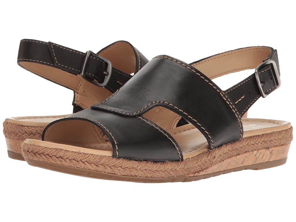 Naturalizer - Reese (Black Leather) Women's Shoes