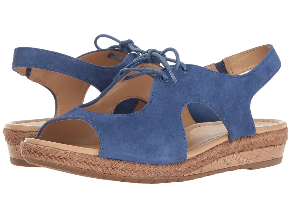 Naturalizer - Reilly (Raft Blue Suede) Women's Shoes