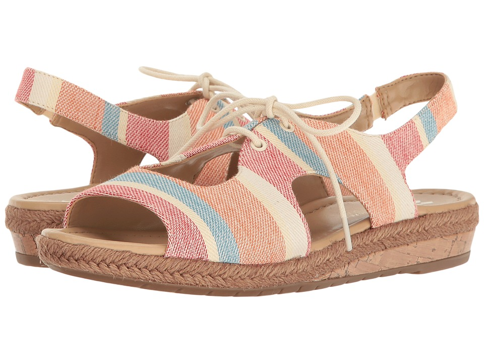 Naturalizer - Reilly (Multi Stripe Fabric) Women's Shoes