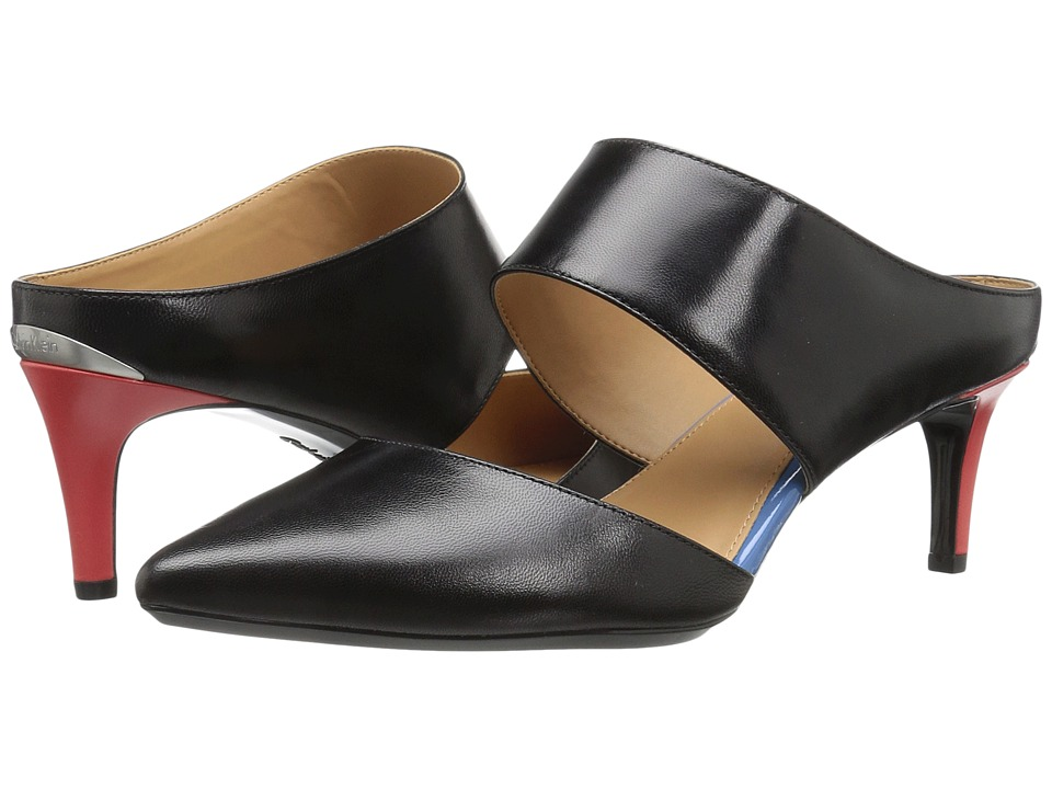 Calvin Klein - Paiden (Black Leather) Women's Shoes