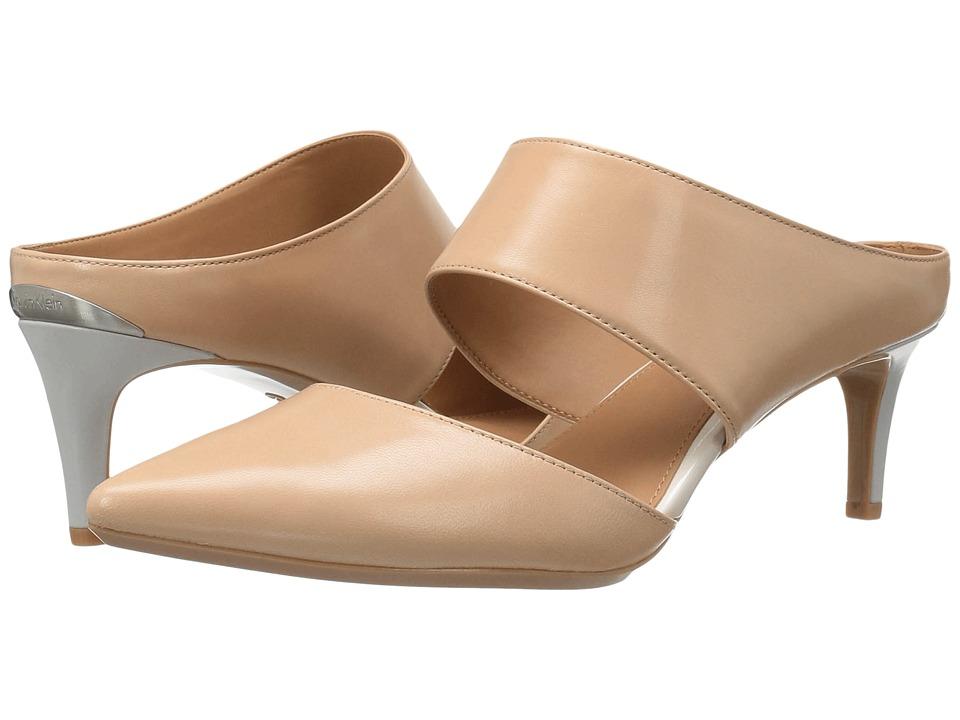 Calvin Klein - Paiden (Sandstorm Leather) Women's Shoes