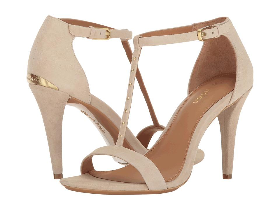 Calvin Klein - Nashra (Sand Suede) Women's Shoes